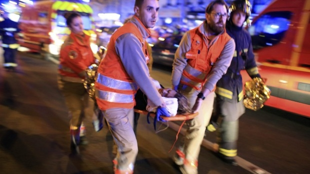 Article image for Paris attack eyewitness account
