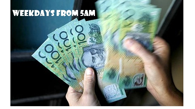 Article image for Win Big Bucks… listen weekdays from 6.45am with Steve & Basil.