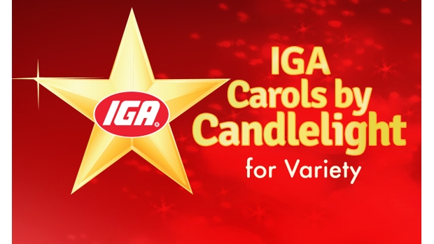 Article image for IGA Carols by Candlelight for Variety
