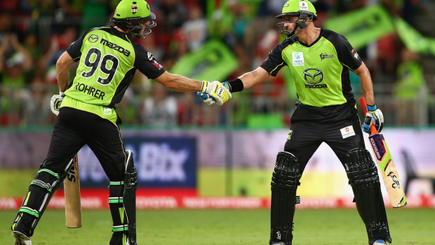 Article image for BBL05: Thunder claim historic win over Sydney rivals