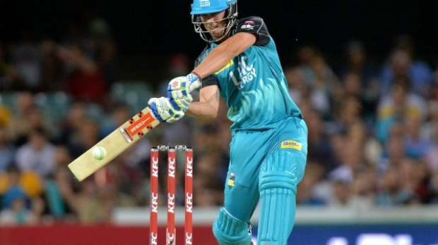 Article image for Hurricanes survive brilliant century from Heat captain Chris Lynn
