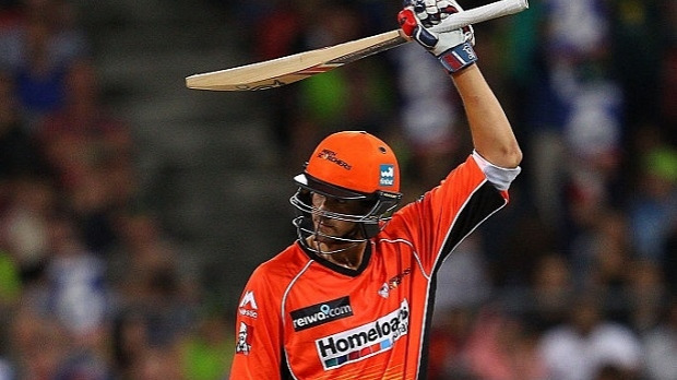 Article image for Young guns fire to lead Perth Scorchers to victory over Sydney Thunder