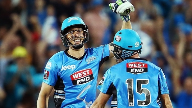Article image for Jake Lehmann blasts Adelaide Strikers into home BBL05 semi final