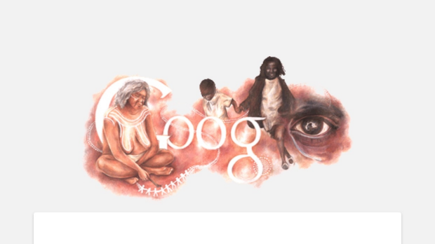Article image for Powerful message behind Google art