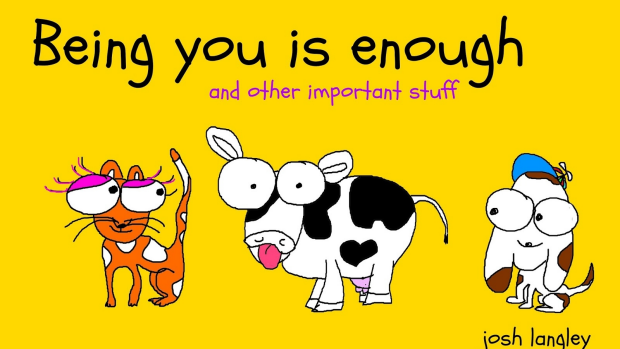 Article image for Book: Being You Is Enough