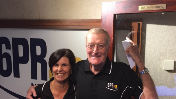 Article image for Radio legend Rod Tiley signs off from 6PR