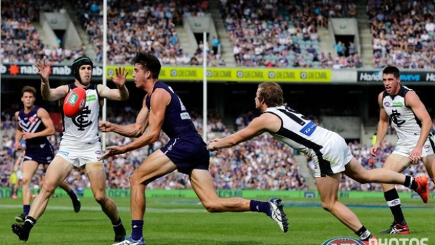 Article image for GAME DAY: Freo struggle with Blues