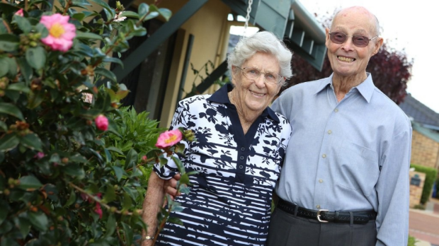 Article image for Perth couple celebrate their 70th wedding anniversary