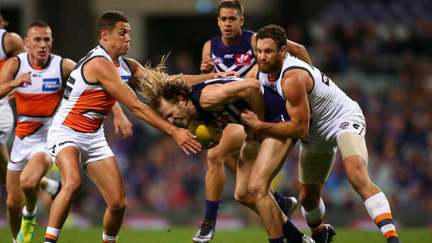 Article image for GWS get first win against Fremantle