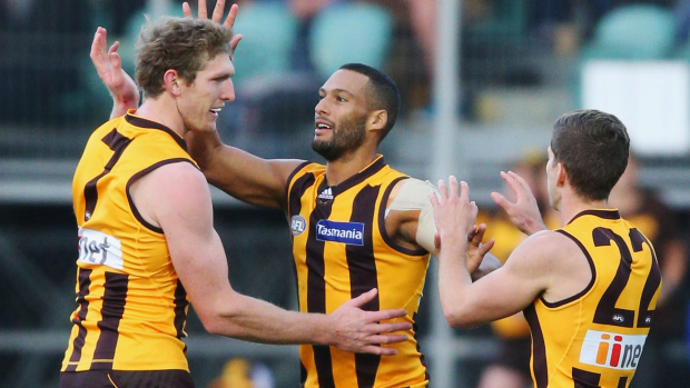 Article image for GAME DAY: Hawks hit Freo hard