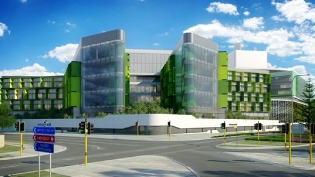 Article image for 1500 damaged panels to be replaced at new children's hospital