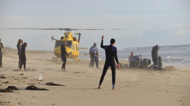 Article image for Mandurah surfer wants more shark surveillance
