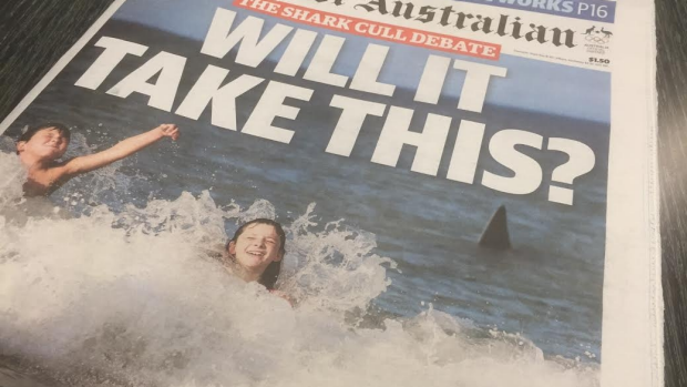 Article image for Public opinion divided over front page