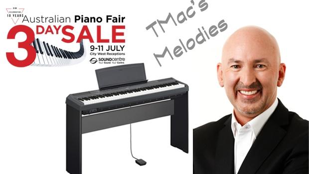 Article image for Win a Yamaha P115 Digital Piano, thanks to the Australian Piano Fair