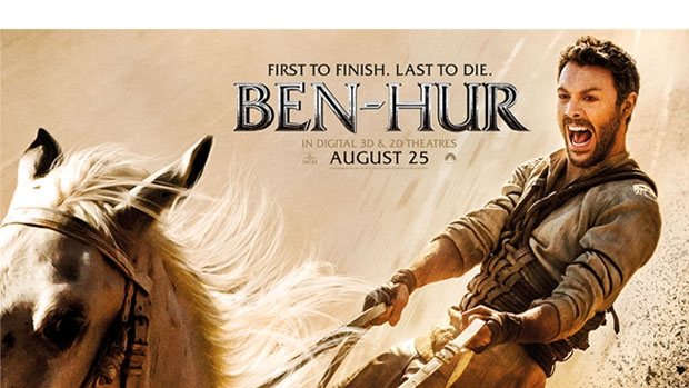Article image for Win Gold Class tickets to an advance screening of BEN-HUR