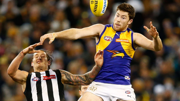 Article image for Second-tier Eagles need to lift, says Simpson