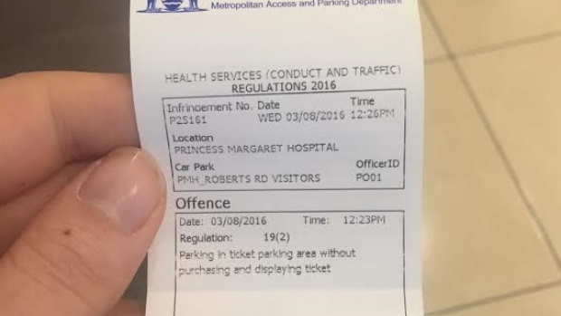 Article image for Mum of ill boy wants meeting with Health Minister over hospital parking
