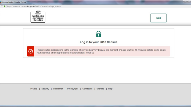Article image for Government adamant Census website was not hacked