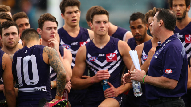 Article image for Barlow confident Fyfe will stay at Fremantle