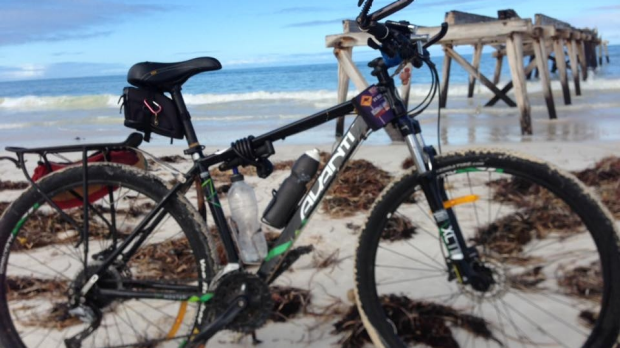 Article image for Charity cyclist's bike stolen in Mandurah