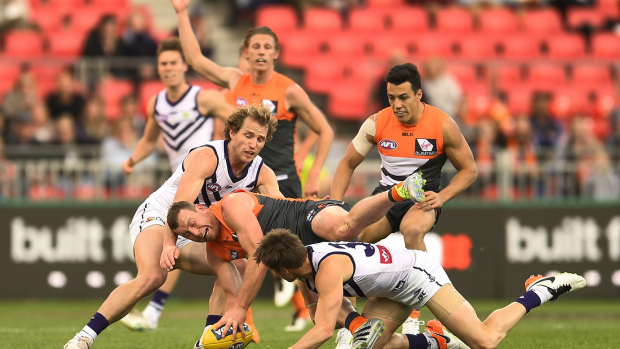 Article image for GAME DAY: Giants Demolish Dockers