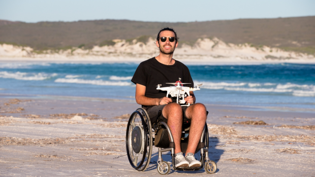 Article image for Filmmaker captures WA with a drone