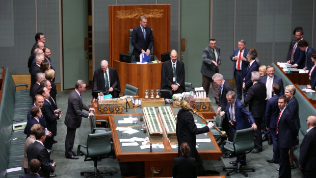 Article image for Parliament Chaos