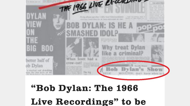 Article image for Perth man featured on Bob Dylan album