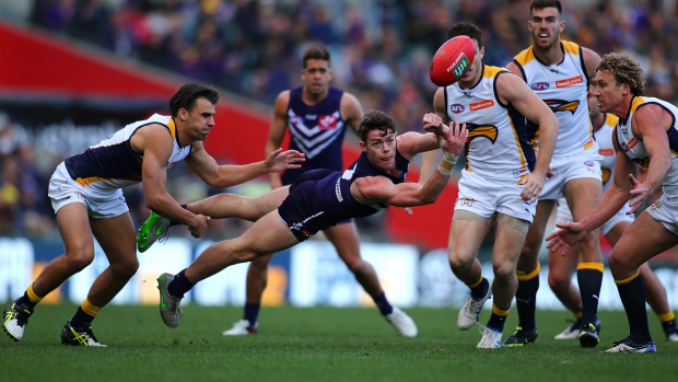 Article image for Freo flag cheap seats