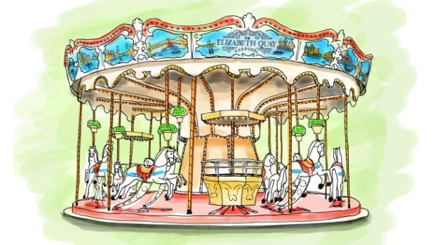 Article image for Carousel to be jewel in Elizabeth Quay crown