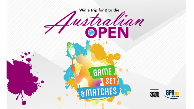 Article image for Win a trip for two to the Australian Open Tennis