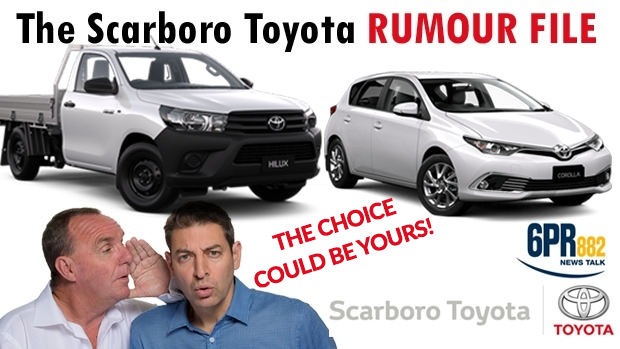 Article image for Scarboro Toyota Rumour File