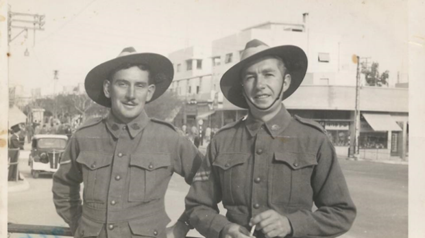 Article image for Aussie digger's WWII diary stolen