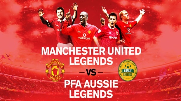 Article image for Manchester United Legends VS PFA Aussie Legends