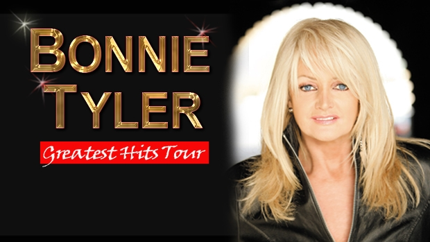 Article image for Bonnie Tyler's Greatest Hits Tour