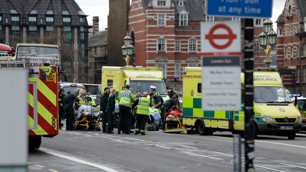 Article image for London 'solemn and defiant' after terror attack