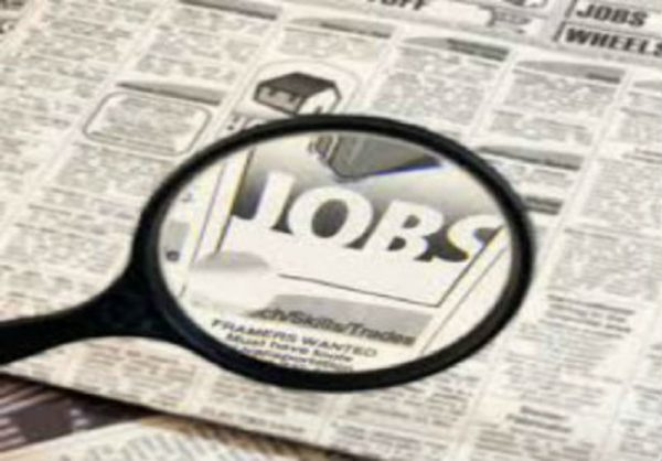 Around 600,000 jobs lost in April