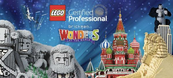 Lego man has dream job