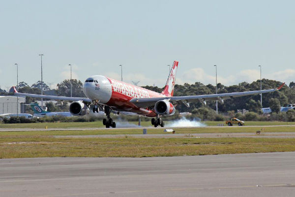 Air Asia passenger shock