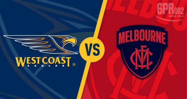 GAME DAY: West Coast V Melbourne