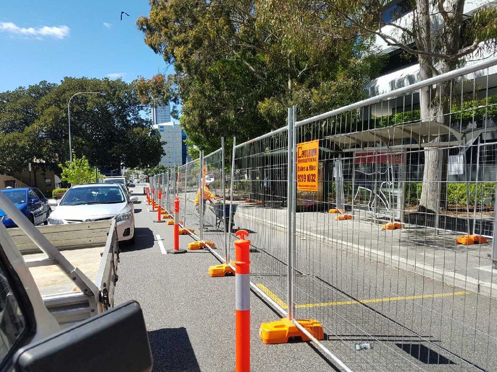 Article image for Perth: the city of temporary fencing