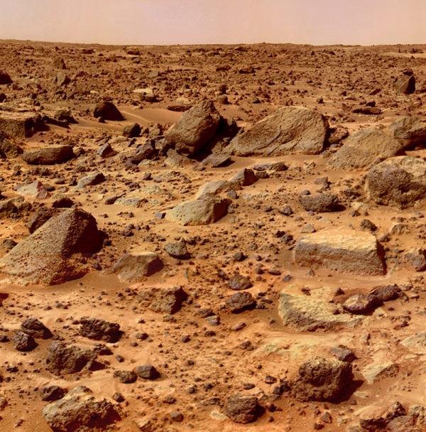 Martian rocks