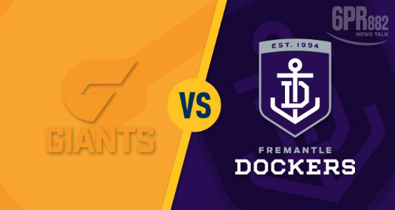 Article image for Dockers squashed by clinical Giants.