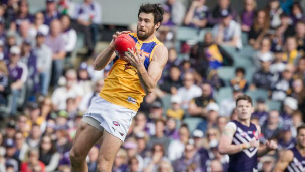 Article image for One fitness test away from playing: Josh Kennedy