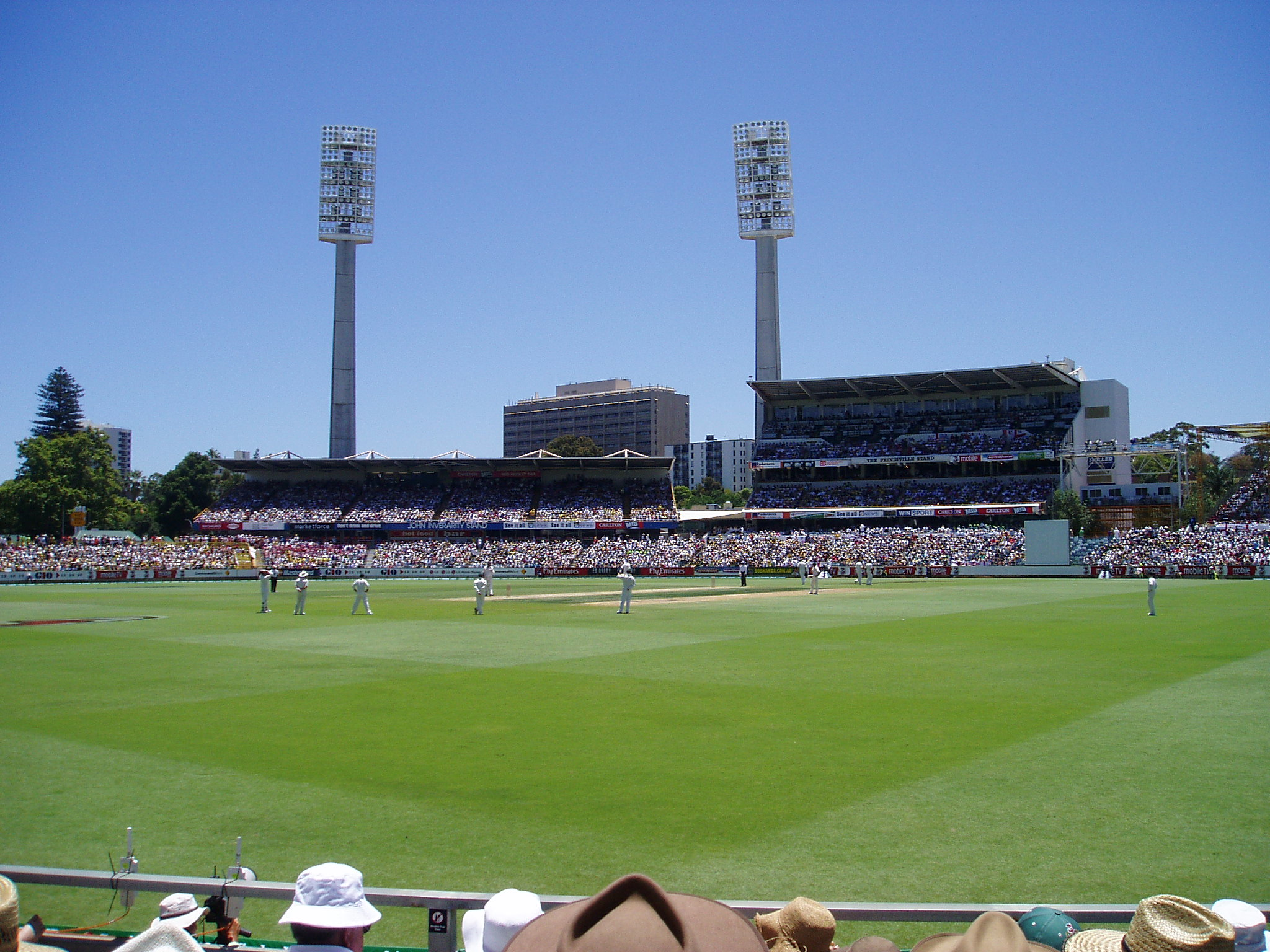 Article image for Pools planned for WACA