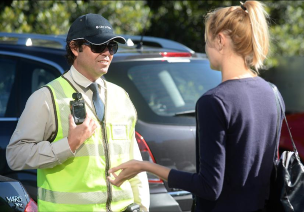 Parking inspectors to wear body cams