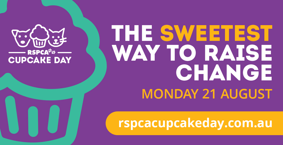 Article image for RSPCA – Pets in Crisis and Cupcake Day