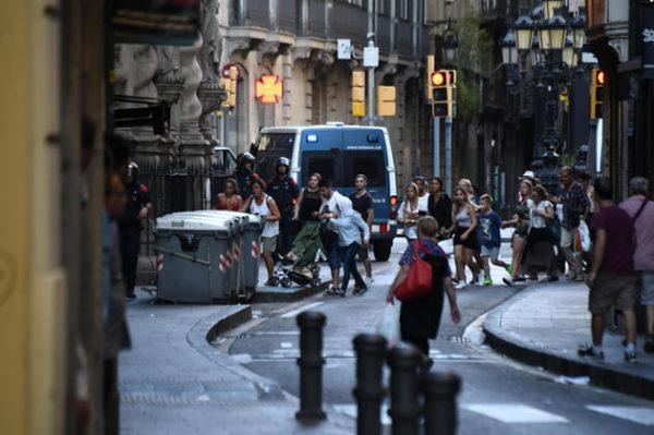 Australians caught up in Barcelona terror
