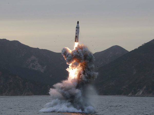 North Korean missile reignites tensions
