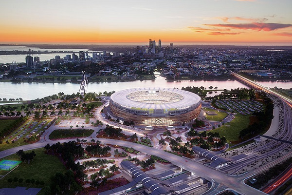 Article image for Cricket still hoping to open new Perth Stadium